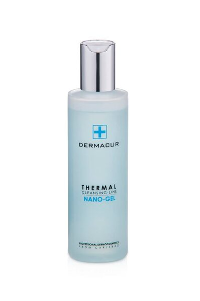 Attīroša želeja sejas ādai Dermacu Nano-gel